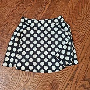 Black and White Dot Skirt